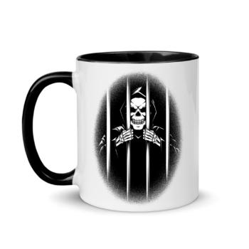 Trapped Within Black Mug